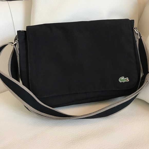 277b0eaf0e7b Lacoste Handbags - Authentic Lacoste Messenger Bag